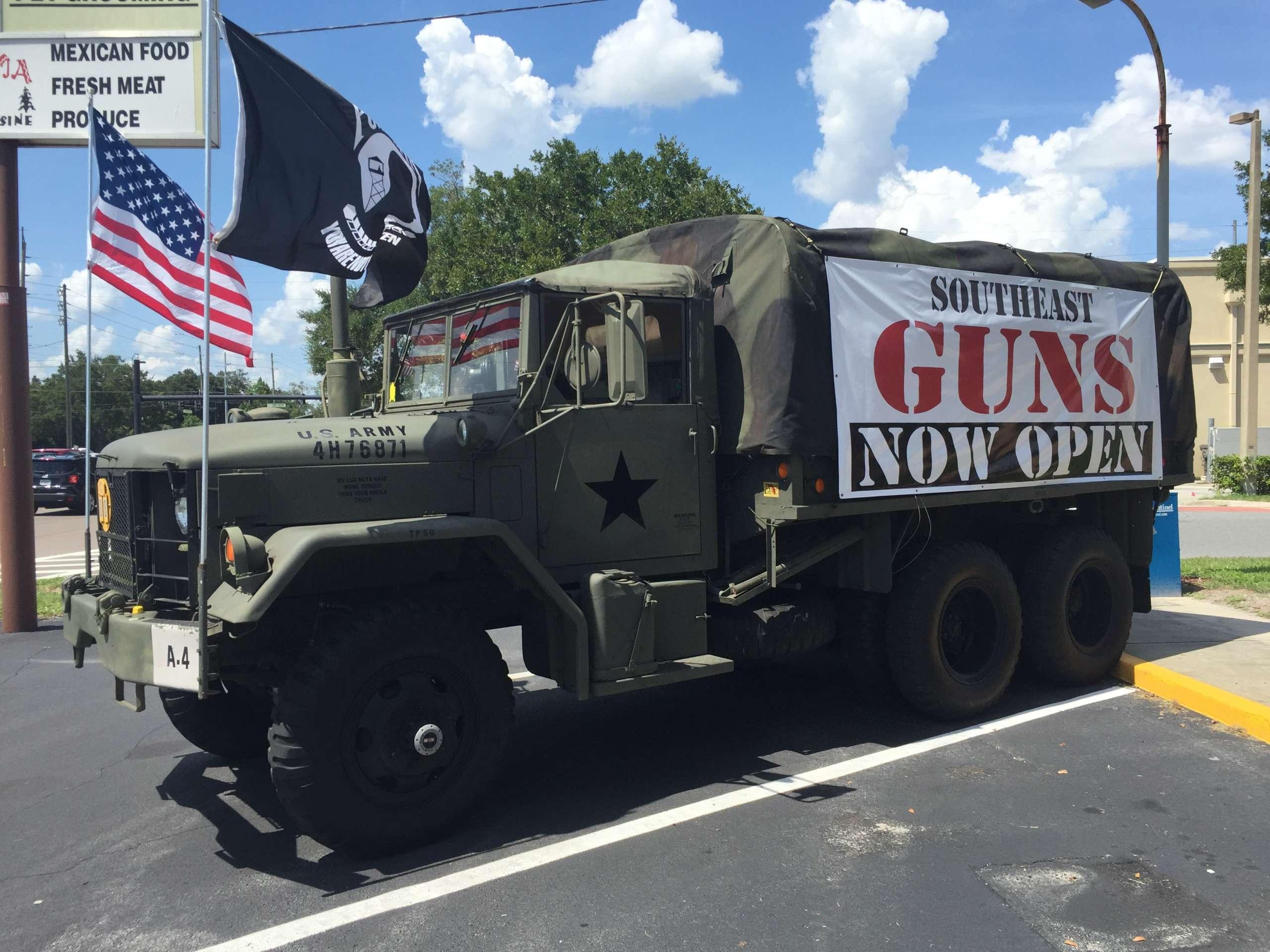 southeast guns store longwood orlando fl guns truck