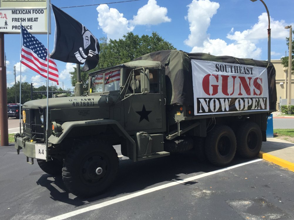 southeast guns store longwood orlando florida guns truck
