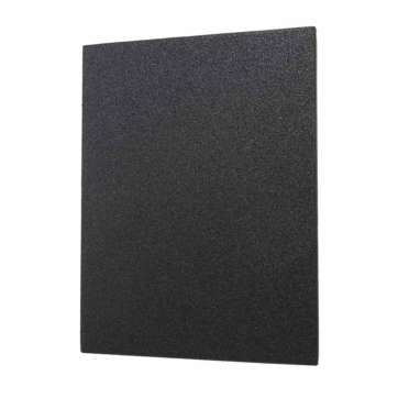 VISM UHMWPE Ballistic Plate - 11X14 - Flat RecTangular Cut front