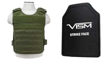 Protect yourself with body armor capable of stopping pistol and rifle rounds (video)