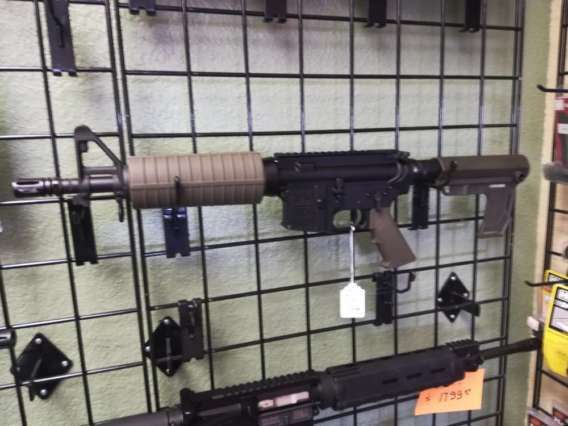 custom-build-ar-15-pistol-5.56-10.5-olive-drab
