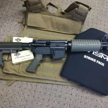 custom-build-ar-15-pistol-5.56-10.5-olive-drab-Longwood