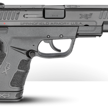 SPRINGFIELD XDE 9MM 4.5 BARREL 8+1-9+1 XDE9459B