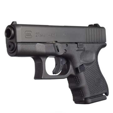 Glock 27 Gen4 40 S&W 3.43in Black Pistol 9+1 Rounds